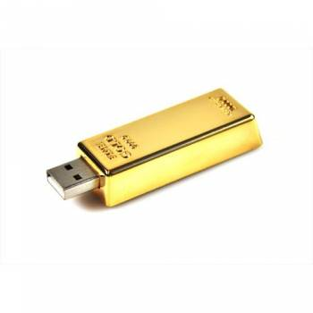 Goldbarren USB-Stick - Ihr Logo in Gold