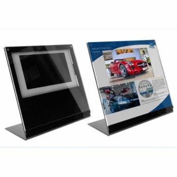Acryl Display mit Video